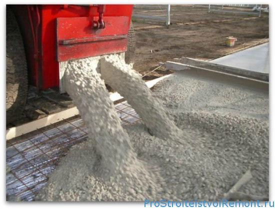 Самый значимый материал при строительстве - бетон