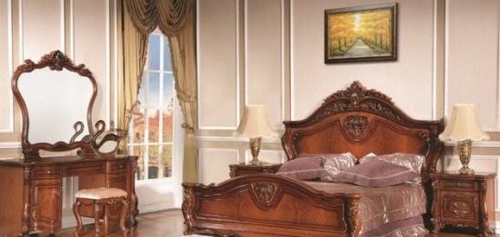 Как выбрать кровать для спальни в классическом стиле?