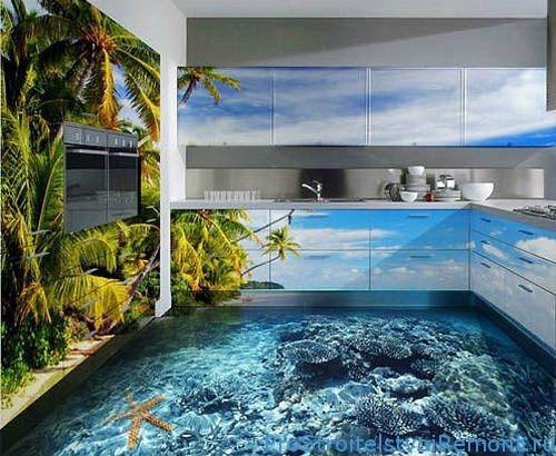 Наливные 3D полы. Какие у них особенности, недостатки?