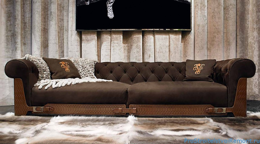 Мягкая мебель от Ipe Cavalli Visionnaire