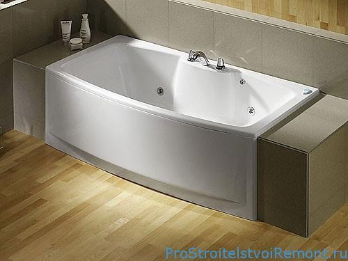 Выбираем и устанавливаем акриловую ванну фото