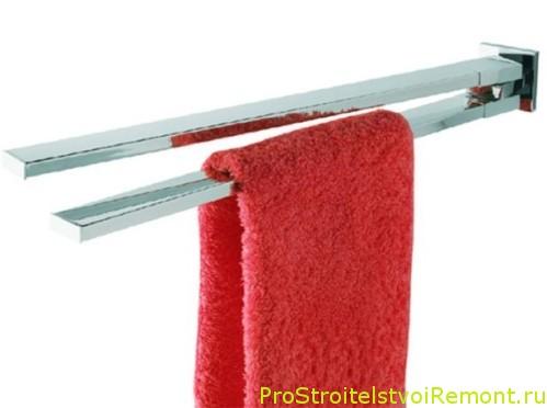 Полотенце держатель для ванной комнаты фото