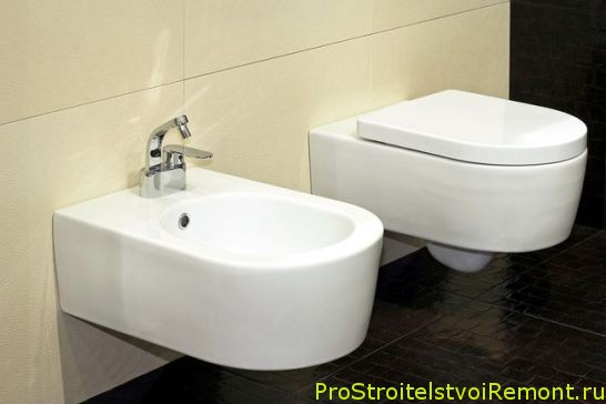 Установка биде в ванной комнате фото