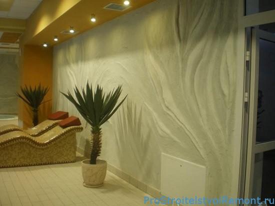 Дизайн стен декоративная штукатурка
