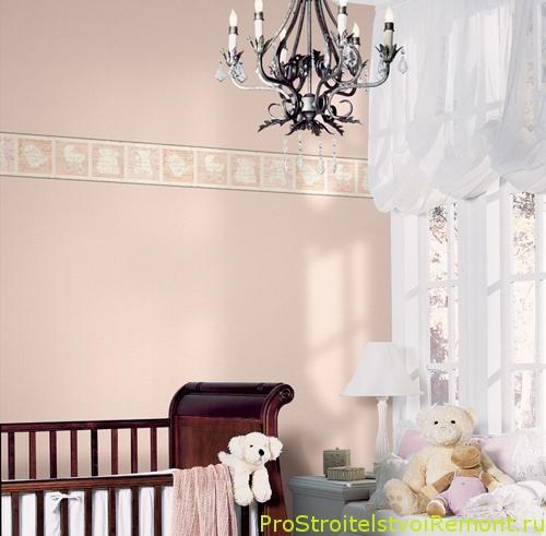 Как украсить детскую комнату для малышка и младенца? фото