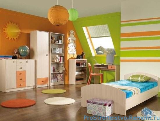 Экологически чистый и безопасный ремонт детской комнаты
