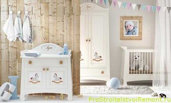 Как украсить детскую комнату для малышка?