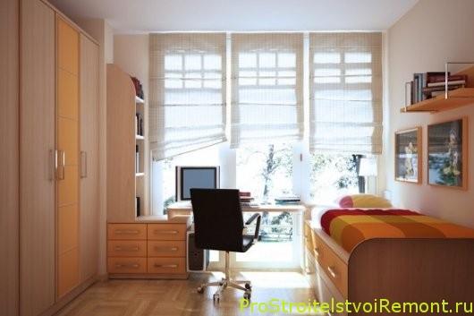 Современный дизайн интерьера детской комнаты фото
