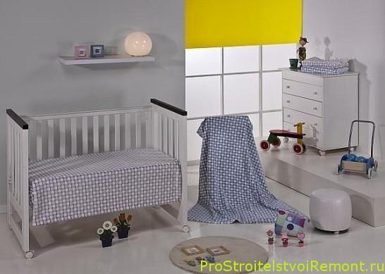 Как украсить детскую комнату для младенца?