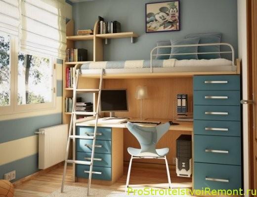 Дизайн интерьера детской комнаты. Украшение детской фото