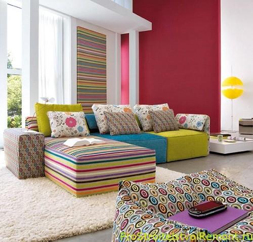 Дизайн интерьера в гостиной фото