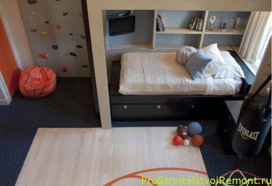 Дизайн интерьера детской комнаты для мальчика фото детская