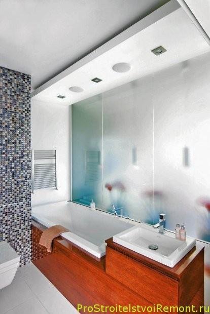 Потолки для ванной комнаты фото