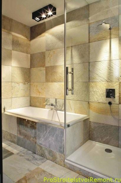 Интерьер ванной комнаты фото