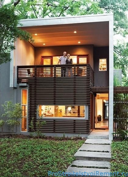 Дома из комбинированных материалов