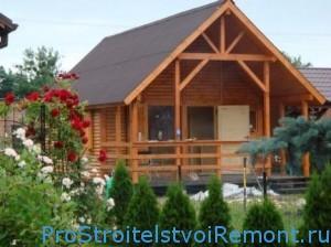Как покрасить фасад деревянного дома?