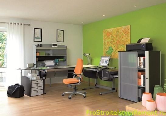 Как украсить домашний офис? фото
