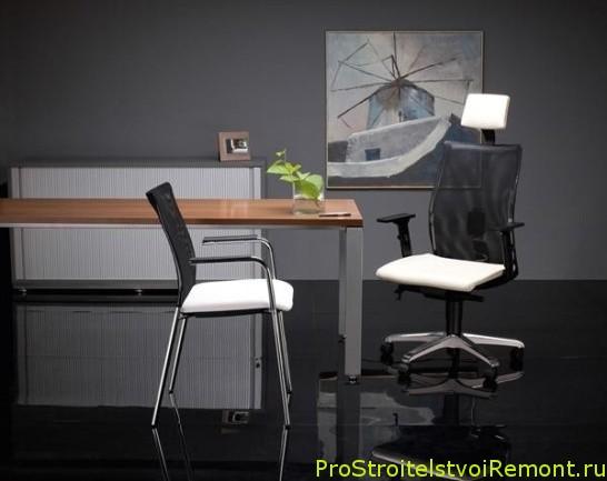 Организация домашнего офиса дома фото