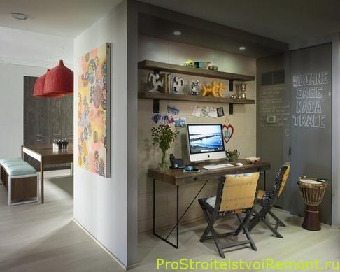 Как организовать домашний офис фото