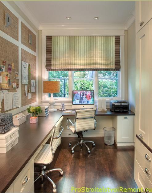 Фотографии Домашний офис скомпьютерными стульями на колесиках фото
