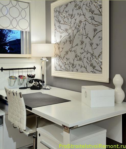Мебель для домашнего офиса фото Современный стиль