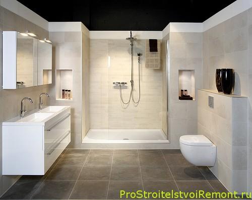 Душевая кабина к ванной комнате