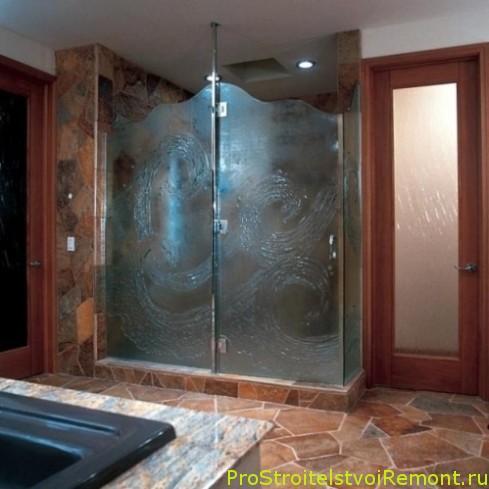 Дизайн современной ванной комнаты с душевой кабиной фото