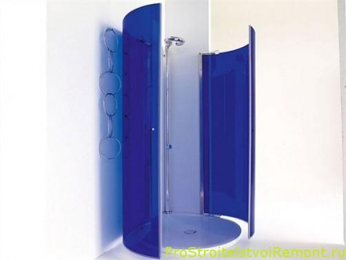 Дизайн душевой кабины в ванной комнате фото