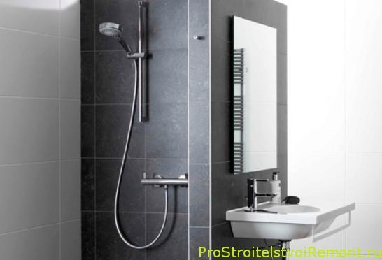 Купить и установить душевую кабину в ванной комнате фото