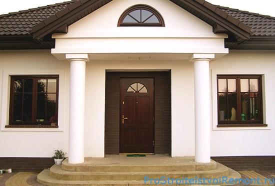 Теплоизоляция и звукоизоляция входной двери