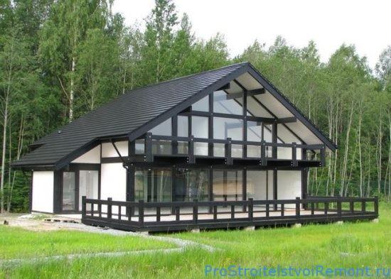 Фахверковые дома (каркасные дома)