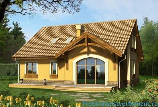 Начальный этап строительства жилого дома