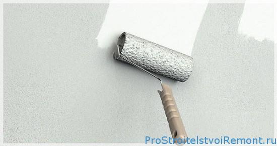 Грунтовка стен из гипсокартона фото