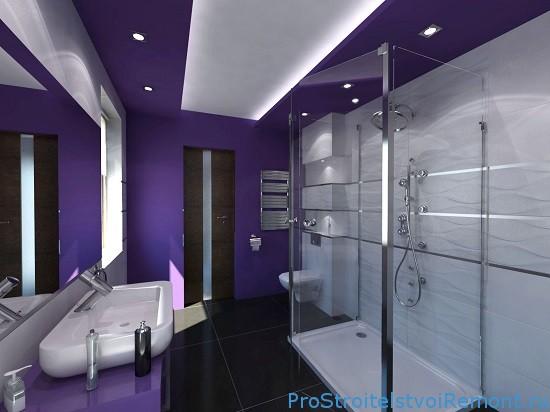 Отделка стен гипсокартоном в ванной комнате