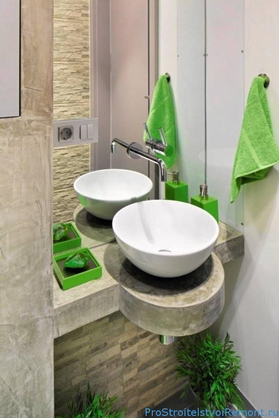 Отделка стен в ванной гипсокартоном фото