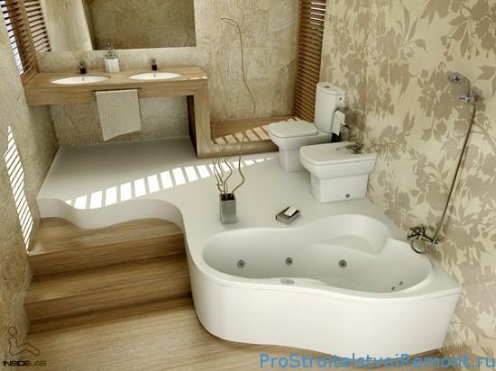 Интерьер в ванной комнате фото