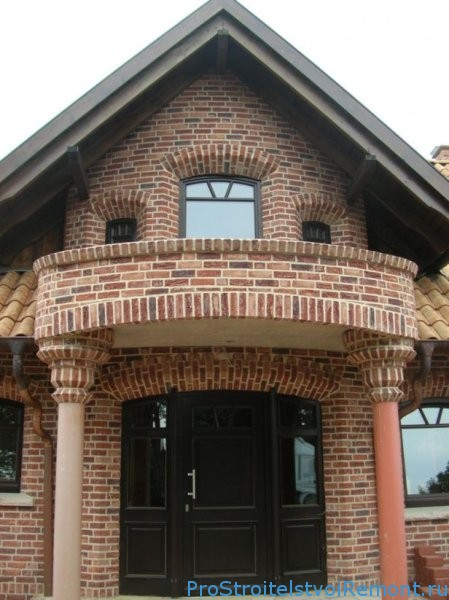 Лицевой кирпич для отделки фасадов зданий