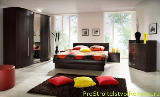 Дизайн интерьера комфортной спальни фото
