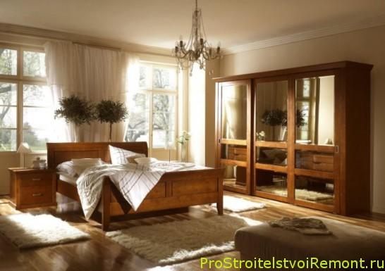 Дизайн интерьера красивой и удобной спальни фото