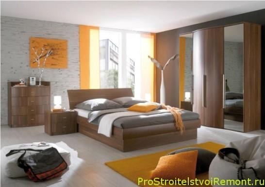 Качественный и комофртный дизайн спальни фото