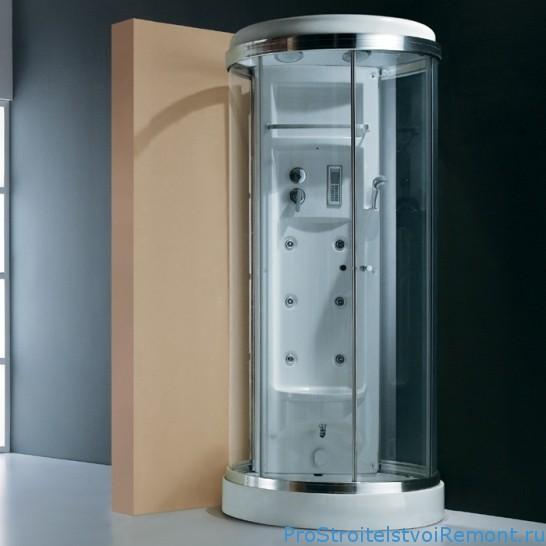 Дизайн ванной с круглой ванной фото