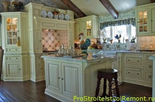 Кухня в деревенском стиле фото кухня
