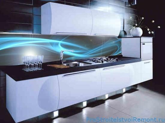 Панели из пластика на кухне фото