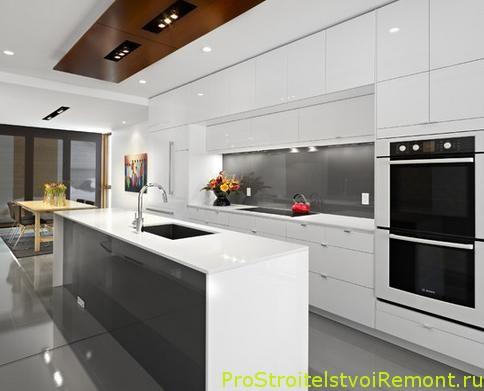 Дизайн кухни в современном оформлении фото