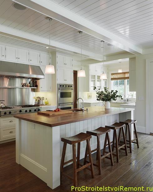 Современная маленькая кухня фото