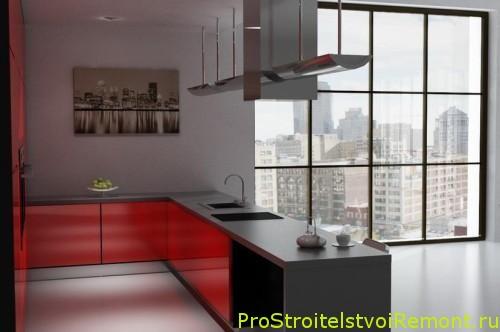 Проекты кухни фото
