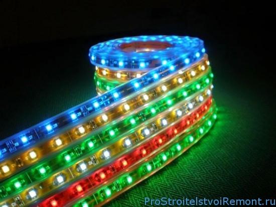Стилистические и практические преимущества использования светодиодной ленты в создании системы качественного интерьерного освещения фото