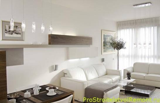 Как визуально увеличить комнату при помощи света и освещения?
