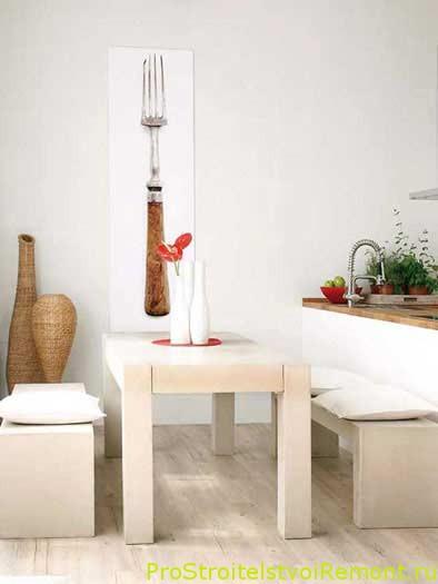 Фотографии столов в столовой фото