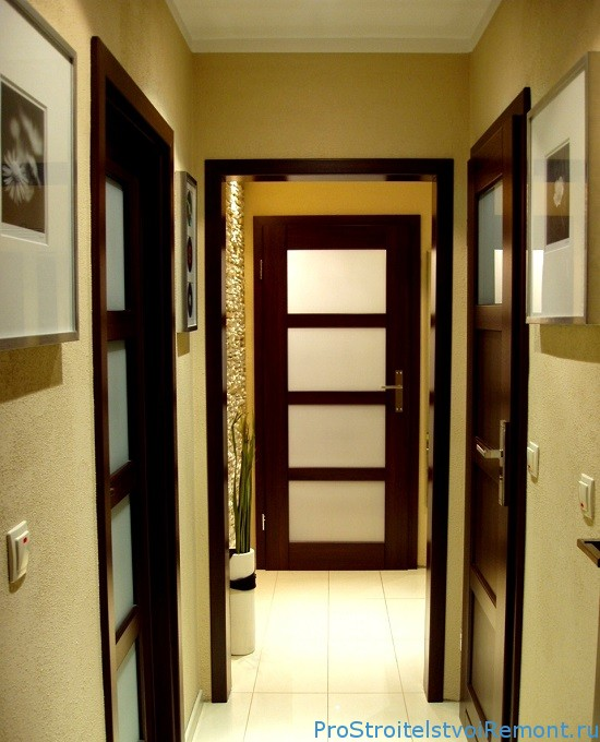 Фото интерьера небольшого коридора
